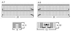 """El conjunto consta de: Gorro y cuello de punto DROPS con patrón de calados en """"BabyAlpaca Silk"""". ~ DROPS Design"""