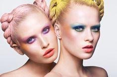 Gorgeous beauty Looks by makeup artist Lasse Pedersen.    CLIENT: Project  PHOTOGRAPHY: BO EGESTRØM  MAKEUP: makeup by Trine Skjøth