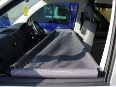 Cab bunk for VW T4 / T5 campervans.
