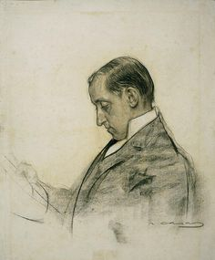 Portrait Of Miquel Utrillo  Ramon Casas