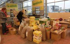 16 november 2013 - Voerinzameling bij Ranzijn te Alkmaar