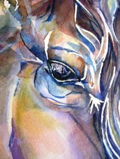 http://www.facebook.com/DeborahLRuby ...  Watercolor Horses