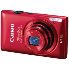Canon PowerShot ELPH 300 HS 12.1 MP CMOS Digital Camera with Full 1080p HD Video (Red) > Price:	$229.00  > Sale:	$179.98 > Click on the image for details and offers.
