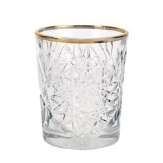WHISKEY GLASS GOLD