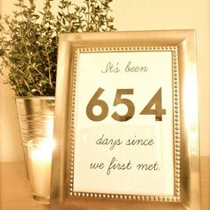 Random Numbers Might Be A Bit Chaotic At Large Reception But This Would Really Sweet And Fun For The Smaller Wedding With Fewer Tables