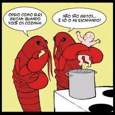 lagostas cozinhando bebe http://boo-box.link/1T6U2