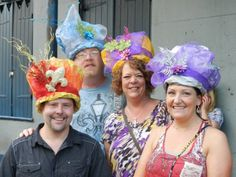 Second Line Hats