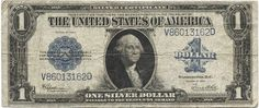 1 Dollar 1923 (Washington) Silver Certificate
