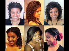 A Few Transitioning Hairstyles #transitioninghairstyle #naturalhair