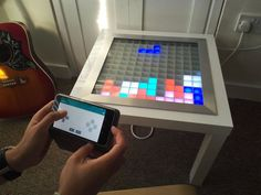 Picture of Bluetooth Controlled Arduino LED Coffee Table