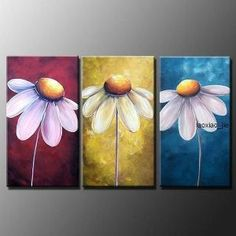 40 Best Ideas for art diy canvas abstract mobiles Abstract Tree Painting, Daisy Painting, Abstract Canvas, Oil Painting On Canvas, Canvas Art, Painting Flowers, Painting Art, Oil Paintings, Canvas Ideas