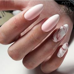 Almond Marble Nails designs;Marble Nails;Almond Nails;Nails Trend;Nails Art;Nails design;Nails Art;Nails acrylic;Nails winter; Nails How to Make Almond Marble Nails Marble Nail Designs, Almond Nails Designs, Acrylic Nail Designs, Nail Art Designs, Almond Nails Pink, Acrylic Nails Almond Matte, Light Pink Nail Designs, Matte Nails Glitter, Blush Pink Nails