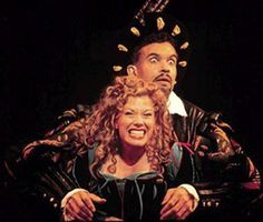 """Brian Stokes Mitchell and Marin Mazzie in the 1999 Broadway revival of """"Kiss Me, Kate"""""""