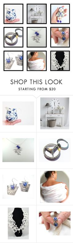Quiet Thoughts by inspiredbyten on Polyvore featuring Allyn and vintage