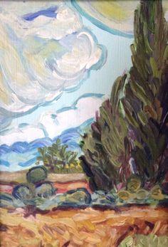 Following Van Gogh