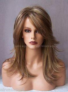 3TONE Auburn Strawberry Blonde with Blonde Long Choppy Layers Tarah RS29 Wig | eBay