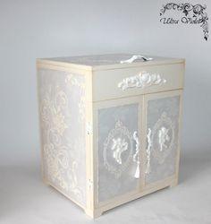 Große Nähen / Stricknadeln Box  Schmuckbox   von UltroViolet
