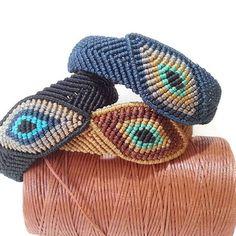 Items similar to bracelet on Etsy Gypsy Jewelry, Macrame Jewelry, Macrame Bracelets, Micro Macramé, Wire Crochet, Freeform Crochet, Handmade Beads, Handmade Bracelets, Macrame Bracelet Tutorial