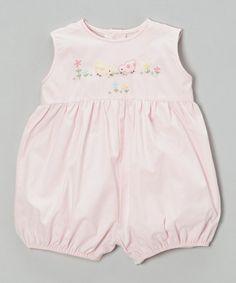 Another great find on #zulily! Pink Bird Romper - Infant by Fantaisie Kids #zulilyfinds