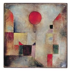 Palloncino rosso, 1922 Stampa giclée di Paul Klee