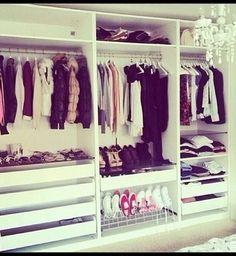 Un dressing organisé