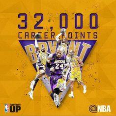 Kobe Bryant!!! 32,000 career points!!! November 18, 2014
