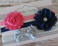 Diadema Baby Set de regalo... Recién nacido por 3LoveliesBowtique