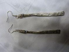 Ohrringe aus Gabelzinken gefertigt vom Pinner