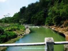 Progo River, Magelang, Indonesia