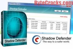 Shadow Defender 1.4.0.648 Serial Key is a perfect security solution that protects your PC/laptop against malware. Get Shadow defender crack…