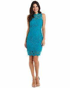 "Dolce Vita ""Tamia"" Jade Lace Sleeveless Dress"