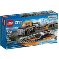 LEGO City 4x4 with Power Boat