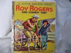 VINTAGE A 1st Edition 1954 Roy Rodgers and Cowboy Toby by abandc, $14.99