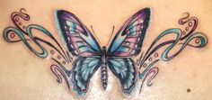 most beautiful butterfly tattoos for women | Butterfly Tattoo Designs