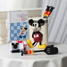 In the Kitchen with Mickey Mouse. Have this in my kitchen, so cute.