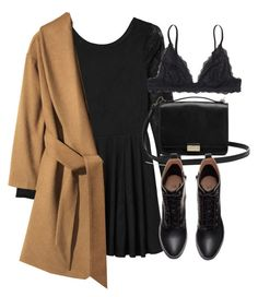 Untitled #5434 by laurenmboot on Polyvore featuring polyvore, fashion, style, Monki, H&M, Lauren Merkin and clothing