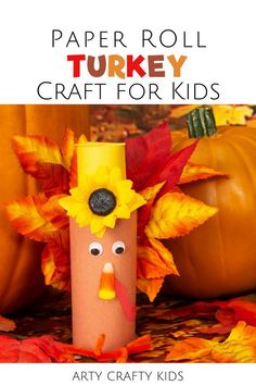Looking for Thanksgiving turkey crafts for kids to make at home or at preschool? These toilet paper roll turkey crafts for kids are so fun   simple enough for preschoolers to make with toilet paper rolls   leaves. Get step by step instructions for these easy turkey crafts for kids plus other easy Thanksgiving crafts for kids here! Thanksgiving Toilet Paper Roll Crafts for Kids   Fall Toilet Paper Roll Crafts for Kids   Easy Fall Crafts for Kids   Preschool Turkey Crafts for Kids  #TurkeyCrafts Turkey Crafts Preschool, Thanksgiving Crafts For Toddlers, Easy Arts And Crafts, Halloween Crafts For Kids, Crafts For Kids To Make, Thanksgiving Turkey, Kids Crafts, Toilet Paper Roll Crafts, Thing 1
