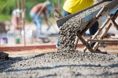 25 Types Of Concrete Used In Construction Work - Daily Civil Ready Mixed Concrete, Clean Concrete, Types Of Concrete, Concrete Materials, Concrete Cement, Concrete Structure, Concrete Projects, Stamped Concrete, Reinforced Concrete