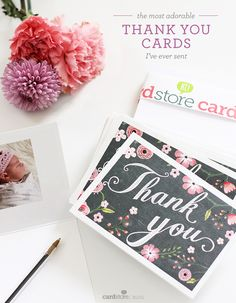 40 Best Thank You Cards Images On Pinterest Be Grateful Gratitude