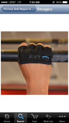 Fit four- crossfit rip gloves