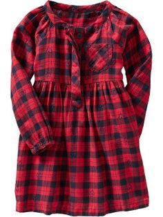 Old Navy | Plaid Dresses for Baby