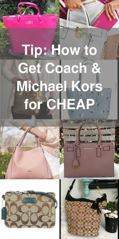 Shop the biggest sale of the year! Find Coach, Michael Kors, Tory Burch, and… Coach Purses, Coach Bags, 4 Diamonds, Pocket Books, Purses And Handbags, Coach Handbags, Fashion Handbags, Cute Bags, Shopping Hacks