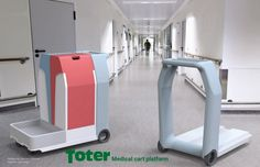 Toter LLC Medical cart by Jon Long at Coroflot.com