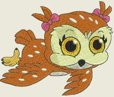 Sweet Baby Girl Owls | Spookies Treasures Baby Girl Owl, Baby Owls, Toy 2, Machine Embroidery Designs, Embroidery Ideas, Cutwork, Word Art, Blackwork, Tigger