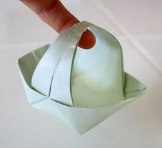 Origami Paper Basket - and lots of other great easy origami patterns!