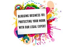IFB asked Brittany Rawlings, an attorney that deals with fashion professionals and entrepreneurs and helps them with her website FashionBoss, for some basic legal advice to help get you get started.  Read it here: http://heartifb.com/2012/10/10/blogging-business-101-know-how-to-protect-yourself-in-the-eyes-of-the-law/