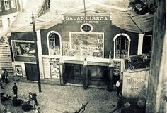 Cinema Salão Lisboa[1932] Rua da Mouraria Fotógrafo não identificado,in Arquivo do Jornal O Século