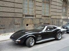 Corvette seen in Bln