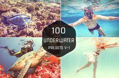 100 Premium Underwater Lightroom Presets by Symufa on Etsy