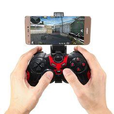 블루투스 3.0 무선 3 모드 게임 핸들 컨트롤러 게임 패드 홀더 안드로이드 iOS 스마트 폰 태블릿 Tv 상자 게임